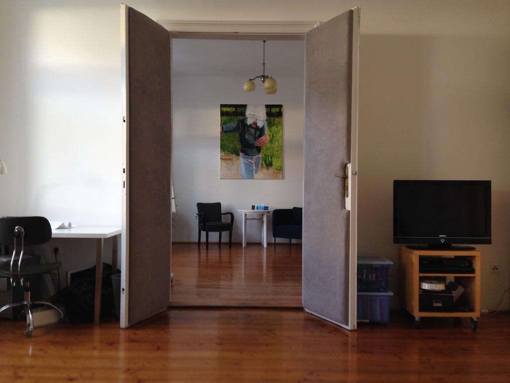 Ansicht des Beratungsraumes II mit Blickrichtung Beratungsraum I